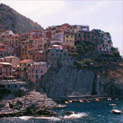 Idyllisk by ved Cinque Terre